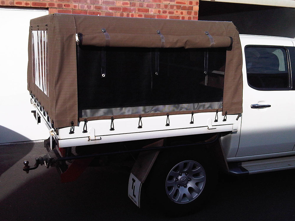 Canvas Canopy & Canvas Ute Canopy Gallery