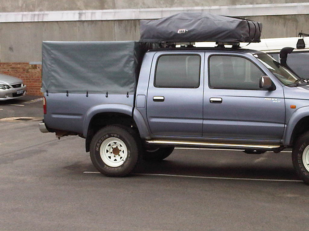 HiLux PVC Canopy & Canvas Ute Canopy Gallery