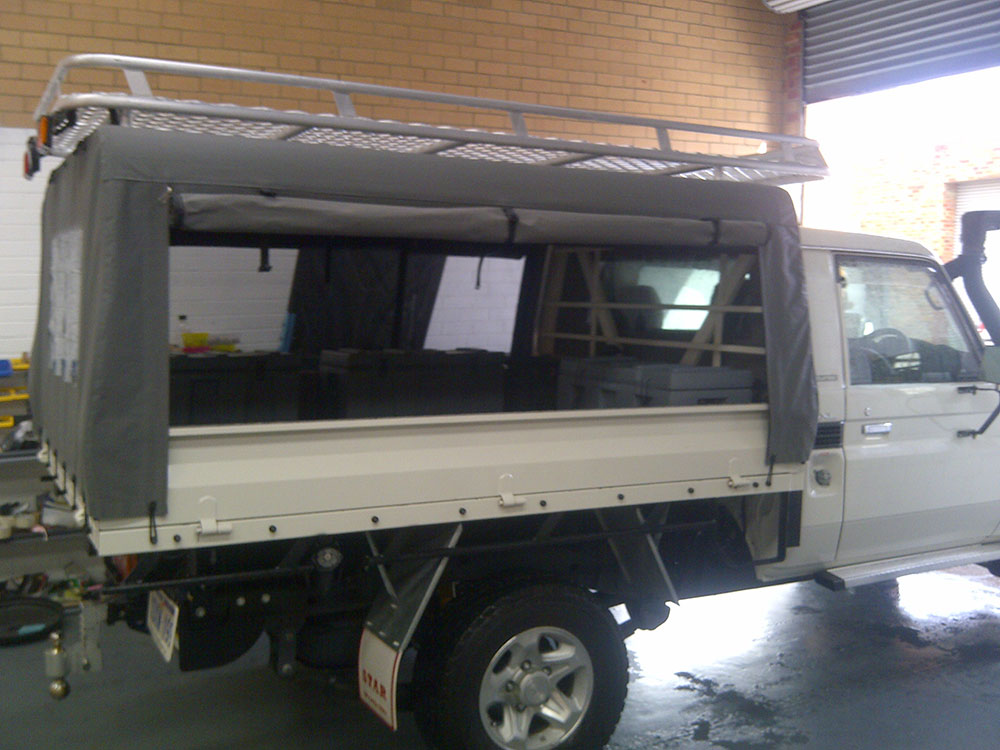 LandCruiser Canvas Canopy for C&ing & Canvas Ute Canopy Gallery