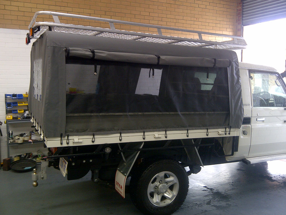 Toyota LandCruiser C&ing Canvas Canopy & Canvas Ute Canopy Gallery