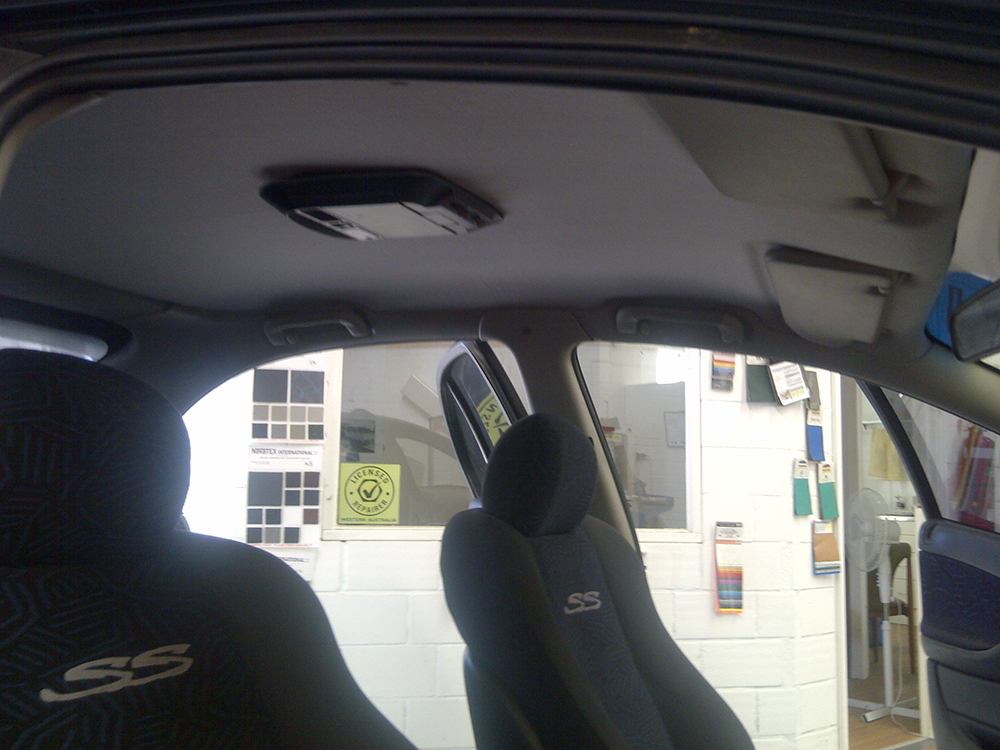 VT Commodore Roofliner Repaired